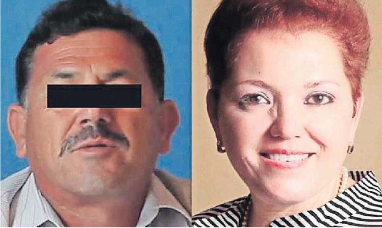 Archivo / Hugo Schultz y la periodista chihuahuense asesinada en 2017